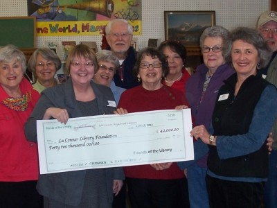 Friends of La Conner Regional Library donate $42,000